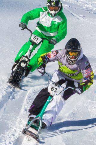 Snowscoot scootcross