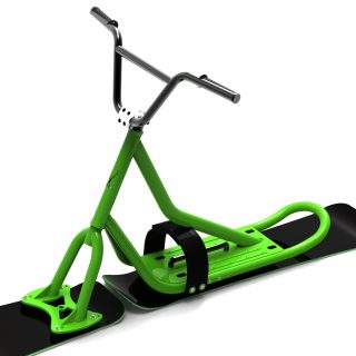 snoscoot centsix green X2 invaders red