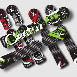 Nouvelles boards Centsix Snowscoot 2016 !