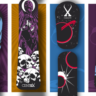 Boards Centsix 2018 : Rigor Mortix & GalactX