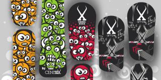 Boards snowscoot Centsix 2019