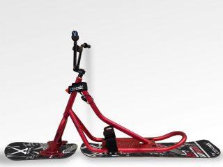 Snowscoot Centsix Aluminium RX Red Race Arrow