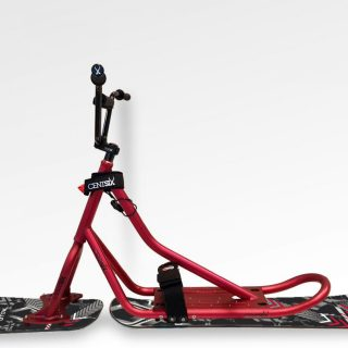 Snowscoot Centsix Aluminium RX Red Race Arrow